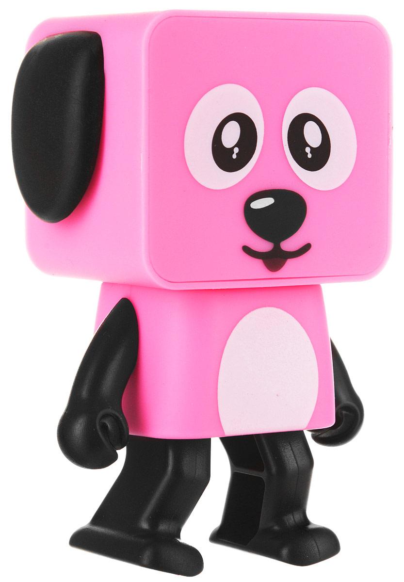 WLTech Dancing Dog, Pink портативная колонка