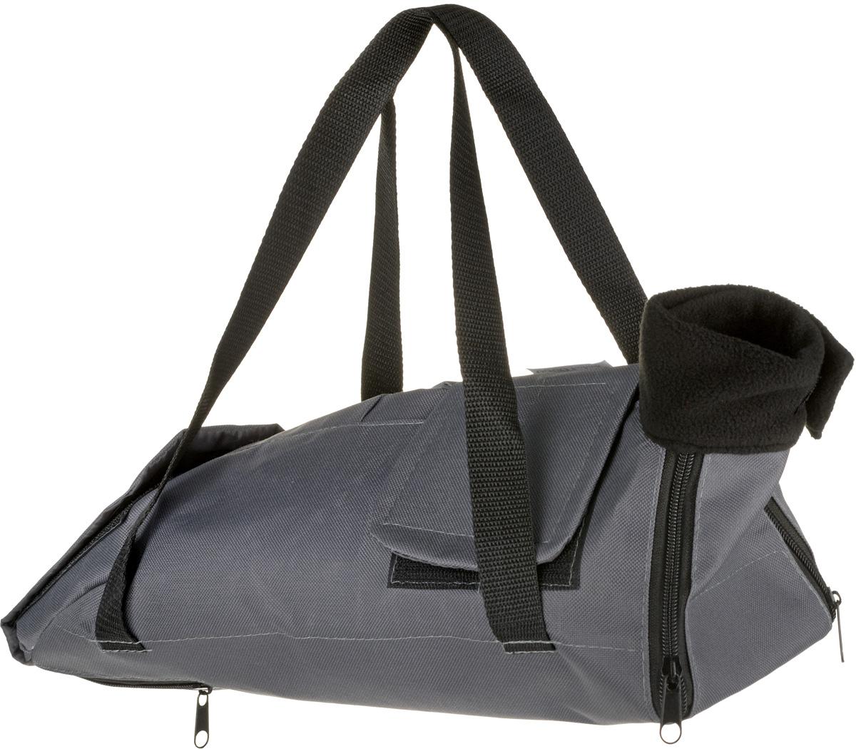 Сумка-фиксатор для кошек OSSO Fashion, цвет: серый. Размер S платье женское f5 цвет серый синий 271014 grey check 2 размер s 44