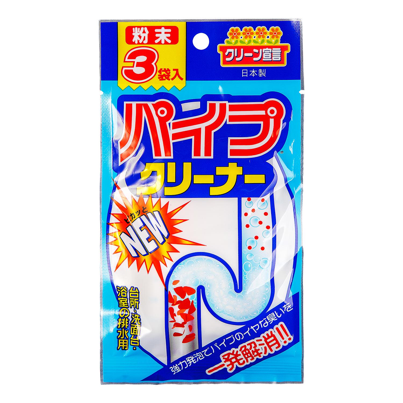 Средство для чистки труб Nagara, 3 х 20 г04057Средство для чистки труб Nagara - эффективный способ быстро и надежно устранить засоры разной степени сложности, включая волосяные и жировые. Даже самые сильные засоры больше не являются проблемой.Внимание!не применять для алюминиевых труб,не смешивать с другими химическими средствами. Способ применения: 1 пакет (20 г) засыпать в сливное отверстие и вокруг него, 1 или 2 стакана воды с температурой 40°С медленно залить в сливное отверстие, оставить на 5 минут, промыть водой. Характеристики: Состав: перкарбонат натрия 59%, углекислые соли 25%, полиоксиэтилен алкиловый сульфата эфир, натриевая соль, бикарбонат натрия. Вес одного пакетика: 20 г. Общий вес: 60 г. Комплектация: 3 шт. Размер упаковки: 17 см х 10 см х 2,5 см. Изготовитель: Япония. Артикул: 04057. Товар сертифицирован.Как выбрать качественную бытовую химию, безопасную для природы и людей. Статья OZON Гид