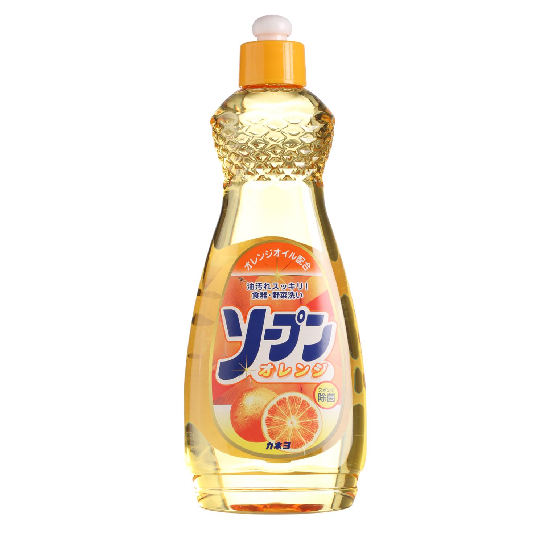 цена на Жидкость для мытья посуды Kaneyo, сладкий апельсин, 600 мл