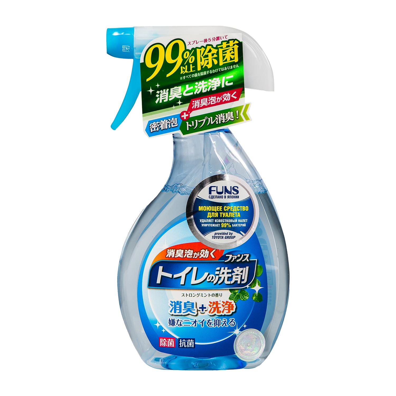 Средство моющее для туалета Funs, с ароматом мяты, 380 мл пенка tony moly tony lab ac control bubble foam cleanser объем 150 мл