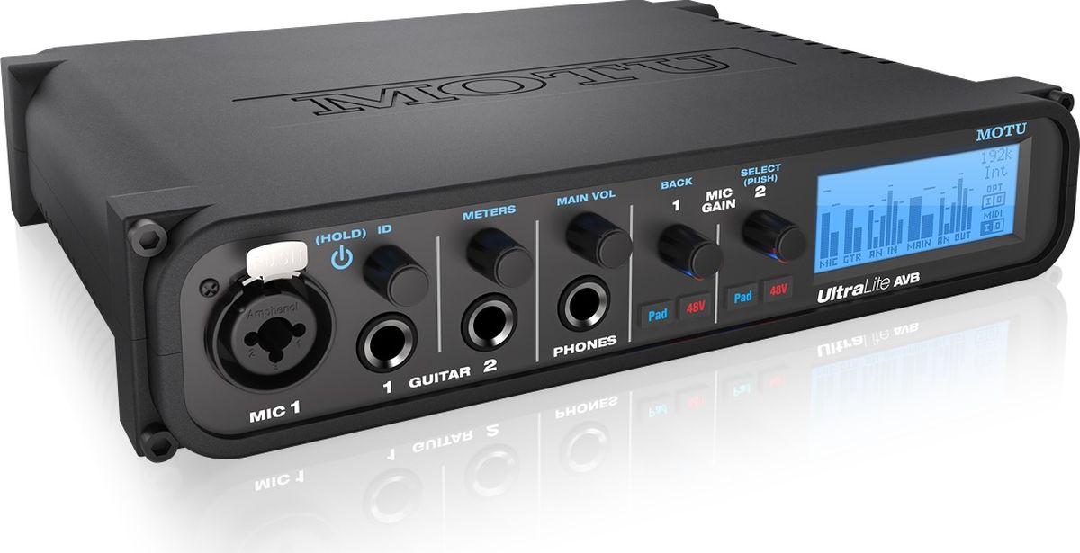 MOTU UltraLite AVB звуковая карта аджна божевильна 33 рифмооткровения
