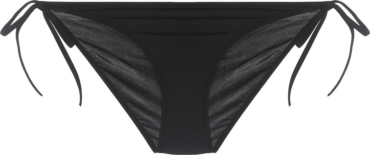 Купальные плавки женские Calvin Klein Underwear, цвет: черный. KW0KW00085_001. Размер S (48) купальные плавки женские calvin klein underwear цвет синий kw0kw00333 476 размер s 42