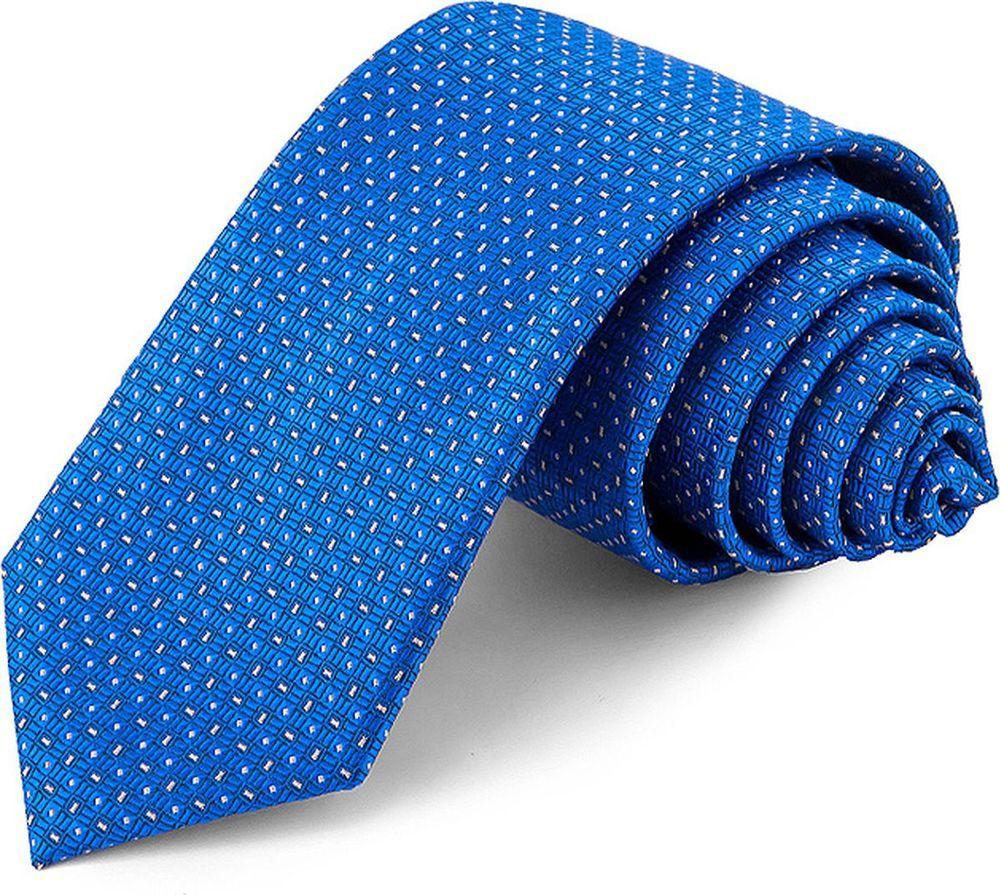 Галстук мужской Casino, цвет: синий. 703.6.38. Размер универсальный703.6.38Галстук Casino, шириной 7 см, сшит вручную из микрофибры с мелкими элементами. Особую прочность и пластичность шелкоподобной ткани обеспечивают тончайшие волокна полиэстера. Галстук прекрасно дополнит сорочки с воротниками: французским и французским развернутым (акула). Галстук прослужит долго благодаря нанесению защитного слоя тефлона вокруг каждой нити. Аксессуары Casino- эффектные дополнения для торжества и на каждый день!