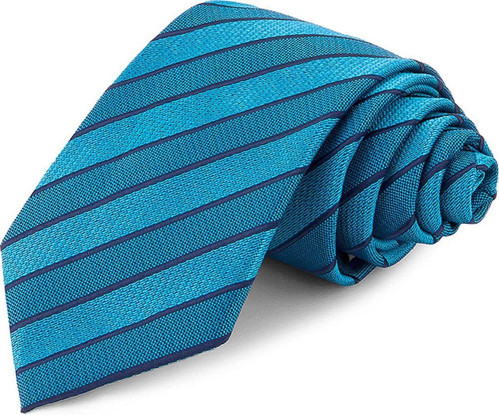Галстук мужской Greg, цвет: бирюзовый. 708.7.87. Размер универсальный галстук мужской greg цвет бирюзовый 2 57 размер универсальный