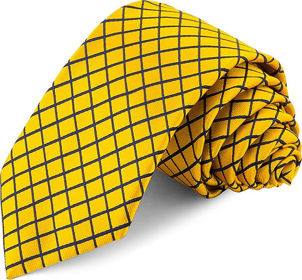 Галстук мужской Greg, цвет: желтый. 708.7.94. Размер универсальный брюки greg horman greg horman gr020emxgz64