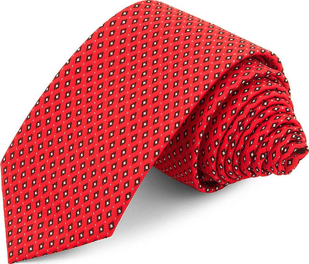 Галстук мужской Greg, цвет: красный. 710.6.01. Размер универсальный  - купить со скидкой
