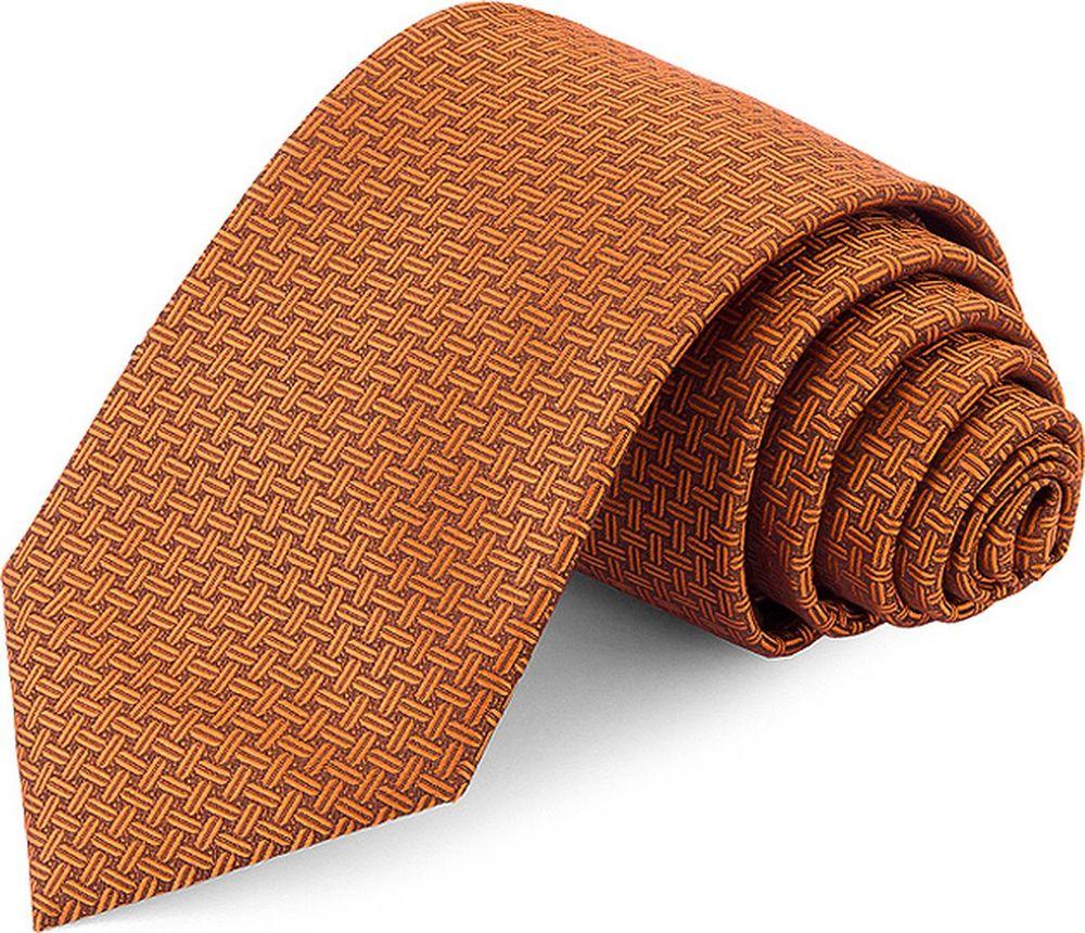 Галстук мужской Greg, цвет: оранжевый. 708.7.103. Размер универсальный