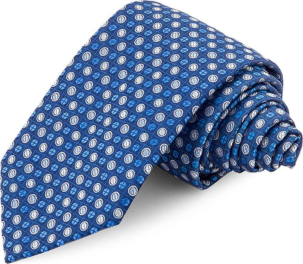 Галстук мужской Greg, цвет: синий. 708.7.38. Размер универсальный брюки greg horman greg horman gr020emxgz64