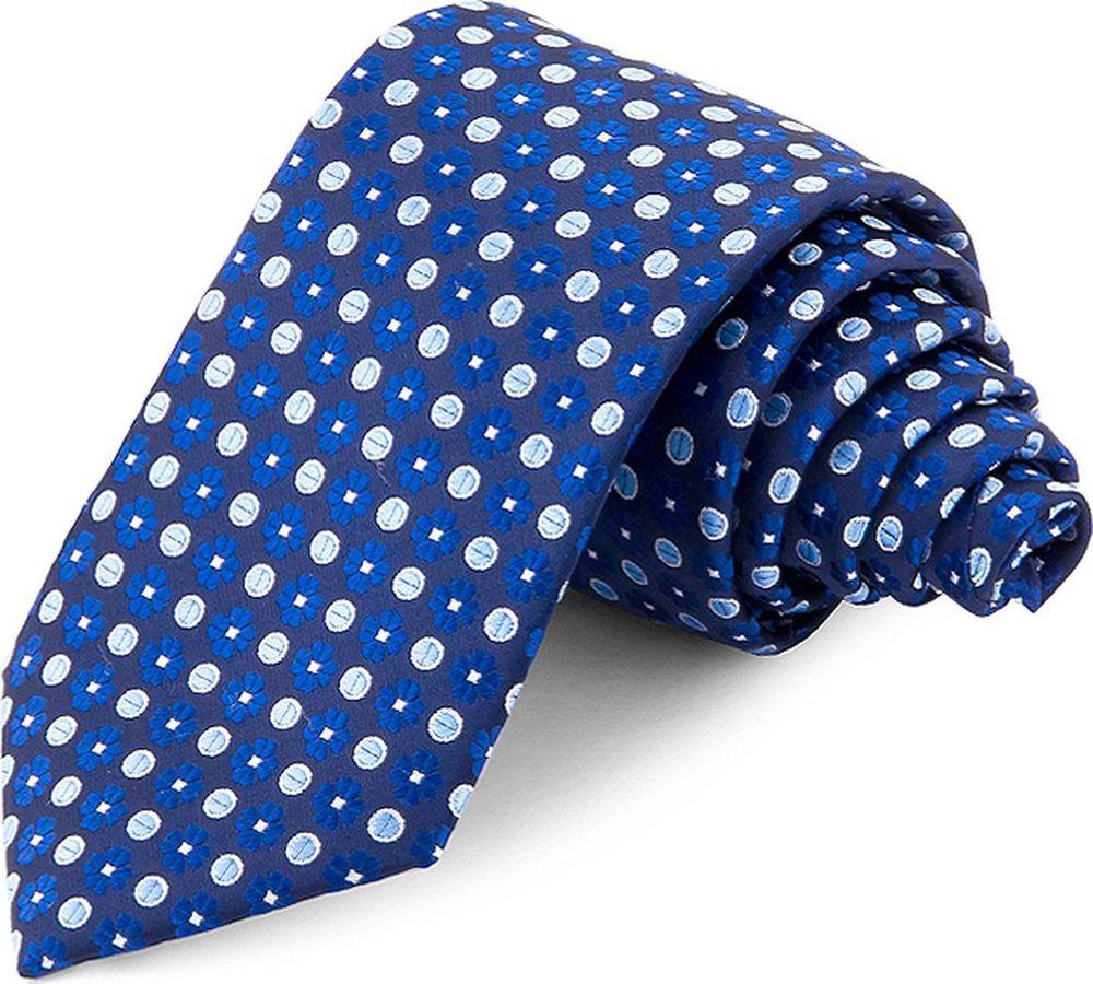 Галстук мужской Greg, цвет: синий. 708.7.39. Размер универсальный брюки greg horman greg horman gr020emxgz64