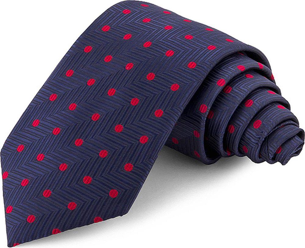 Галстук мужской Greg, цвет: синий. 708.7.44. Размер универсальный брюки greg horman greg horman gr020emxgz64