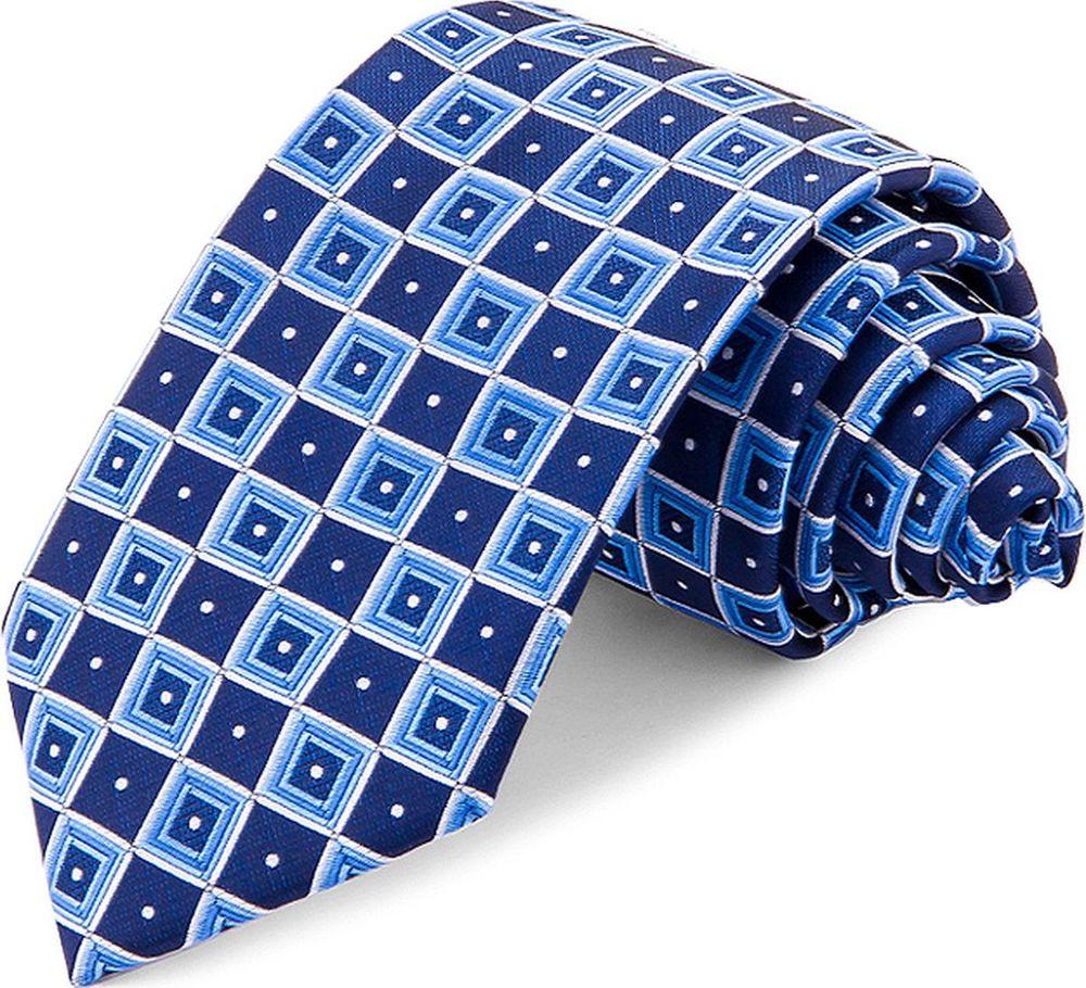 Галстук мужской Greg, цвет: синий. 708.7.46. Размер универсальный брюки greg horman greg horman gr020emxgz64