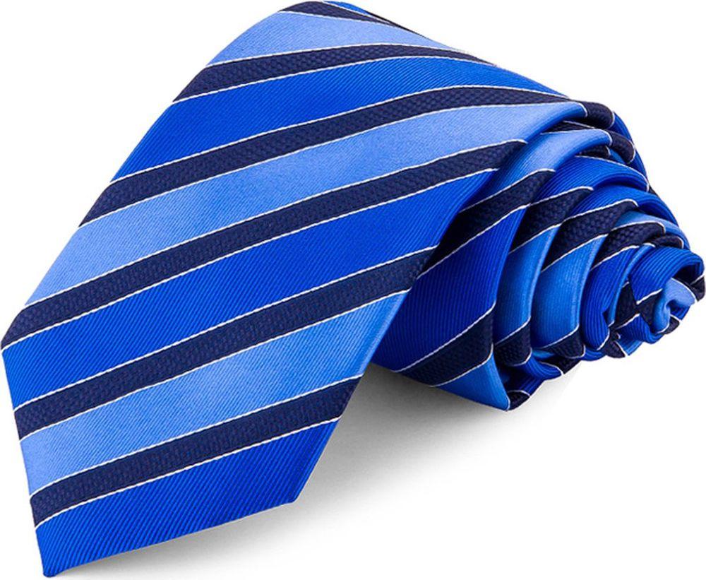 Галстук мужской Greg, цвет: синий. 708.7.52. Размер универсальный брюки greg horman greg horman gr020emxgz64