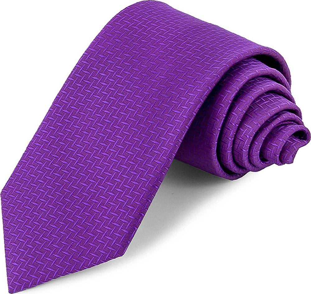 Галстук мужской Greg, цвет: фиолетовый. 2.77. Размер универсальный