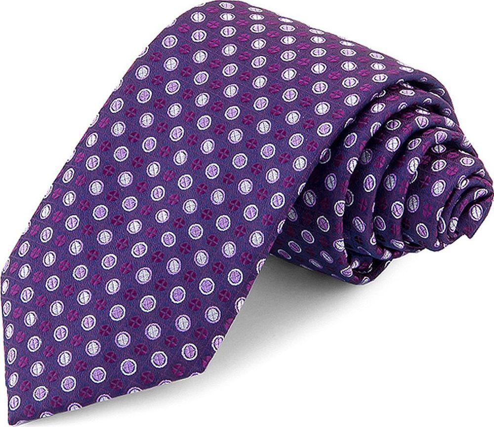 Галстук мужской Greg, цвет: фиолетовый. 708.7.66. Размер универсальный брюки greg horman greg horman gr020emxgz64