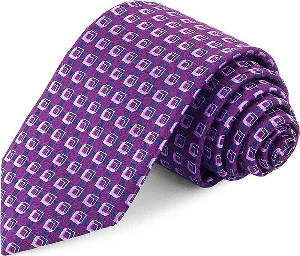 Галстук мужской Greg, цвет: фиолетовый. 708.7.75. Размер универсальный clubseta мужской фиолетовый галстук слегка переливается clubseta 7983