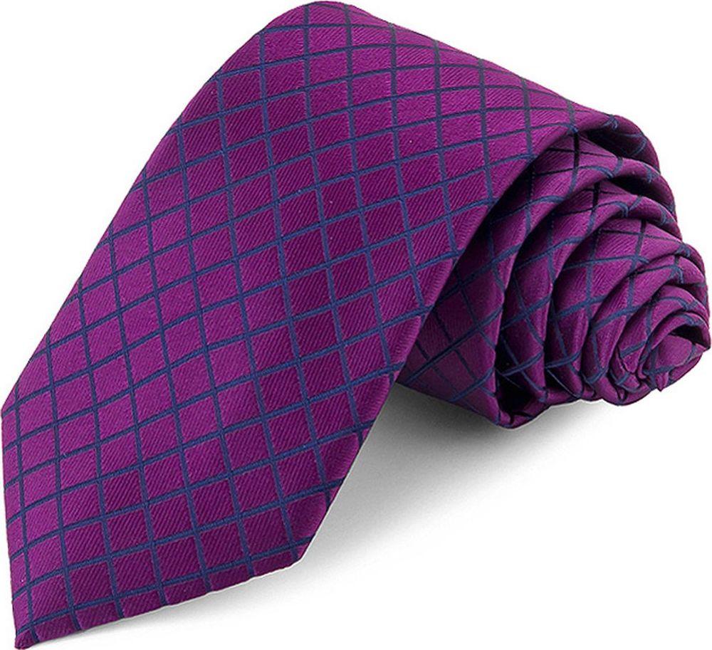 Галстук мужской Greg, цвет: фиолетовый. 708.7.77. Размер универсальный clubseta мужской фиолетовый галстук слегка переливается clubseta 7983