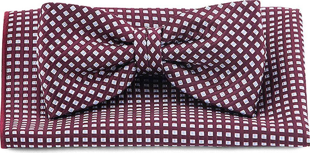 Галстук-бабочка мужской Carpenter, цвет: бордовый. 710.1.105. Размер универсальный галстук бабочка мужской carpenter цвет лиловый 710 1 127 размер универсальный