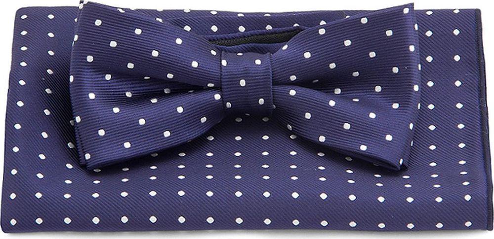 Галстук-бабочка мужской Carpenter, цвет: синий. 710.1.99. Размер универсальный галстук бабочка мужской carpenter цвет лиловый 710 1 127 размер универсальный