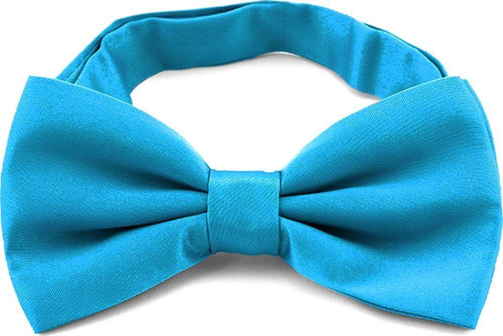 Галстук-бабочка мужской Casino, цвет: бирюзовый. 6.31. Размер универсальный