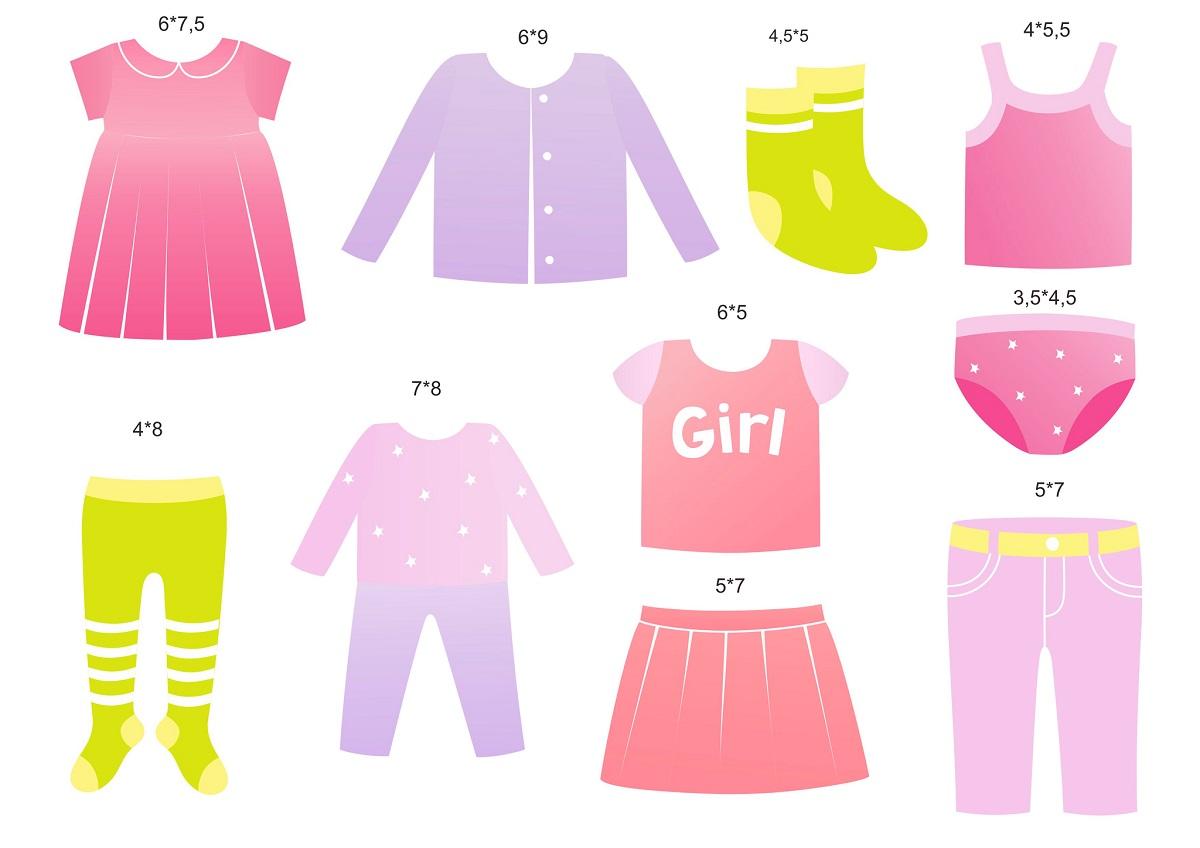 Набор наклеек Все на местах Девочки, для детской комнаты, 2 листа190101Наклейки можно использовать на любой горизонтальной или вертикальной поверхности. Наклейки на ящиках детского комода помогут вашему малышу найти нужную вещь, и поспособствуют приучению ребенка к порядку. Игра в одевание нарисованной куклы-девочки в разные одежки - отличная развивающая игра. В отличие от рисунка, наклейки можно наклеить и снять, не оставляя следов