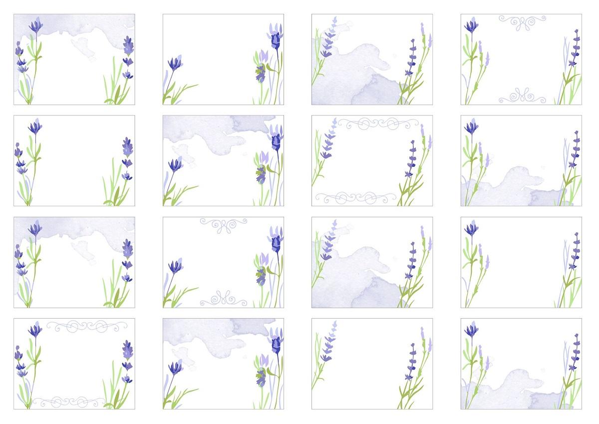 Набор наклеек Все на местах Лаванда, прямоугольные, цвет: сиреневый, 4,5 x 6 см, 2 листа190109Наклейки пригодятся в делопроизводстве - для нумерации и наименований полок, книг, папок, журналов и т.п. Подойдут для маркировки любых предметов дома или в учреждениях. Также их можно использовать в качестве стикеров для небольших пометок. Узор лаванда сделает любую маркировку изящной и эстетичной.