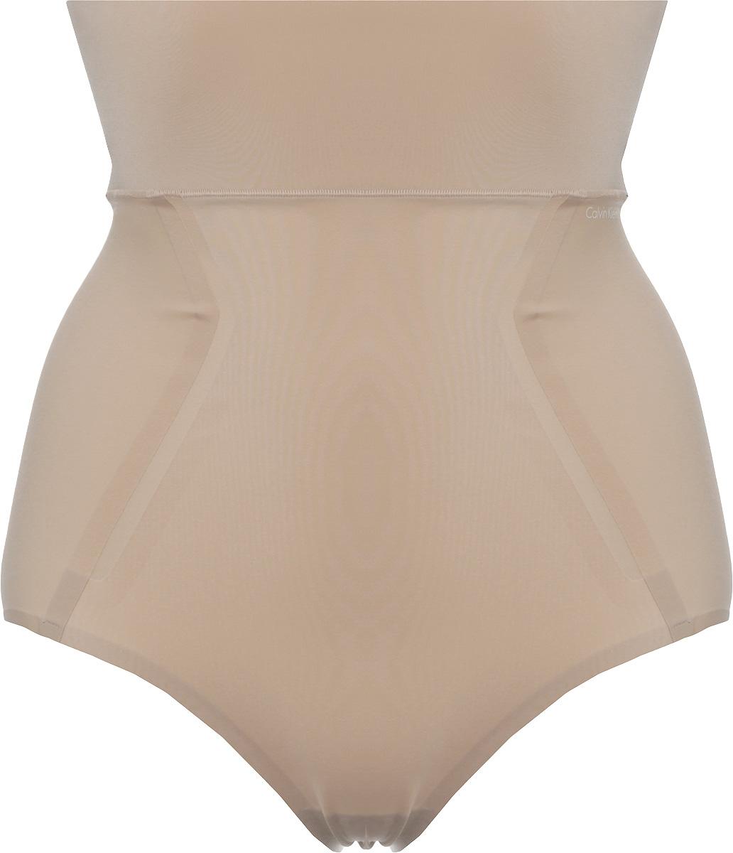 Трусы женские Calvin Klein Underwear, цвет: бежевый. QF4263E_20N. Размер S (42) трусы женские calvin klein underwear цвет черный qf1950e 001 размер s 42