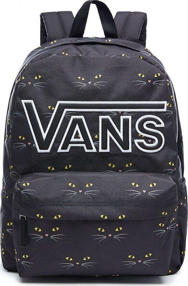 Рюкзак женский Vans Realm Flying , цвет: черный, 22 л. VA34GHP21