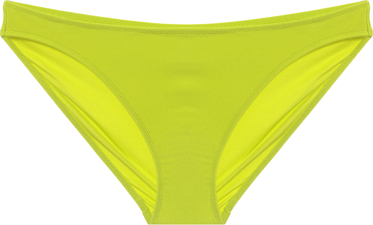 Купальные плавки женские Calvin Klein Underwear, цвет: желтый. KW0KW00082_311. Размер S (42)