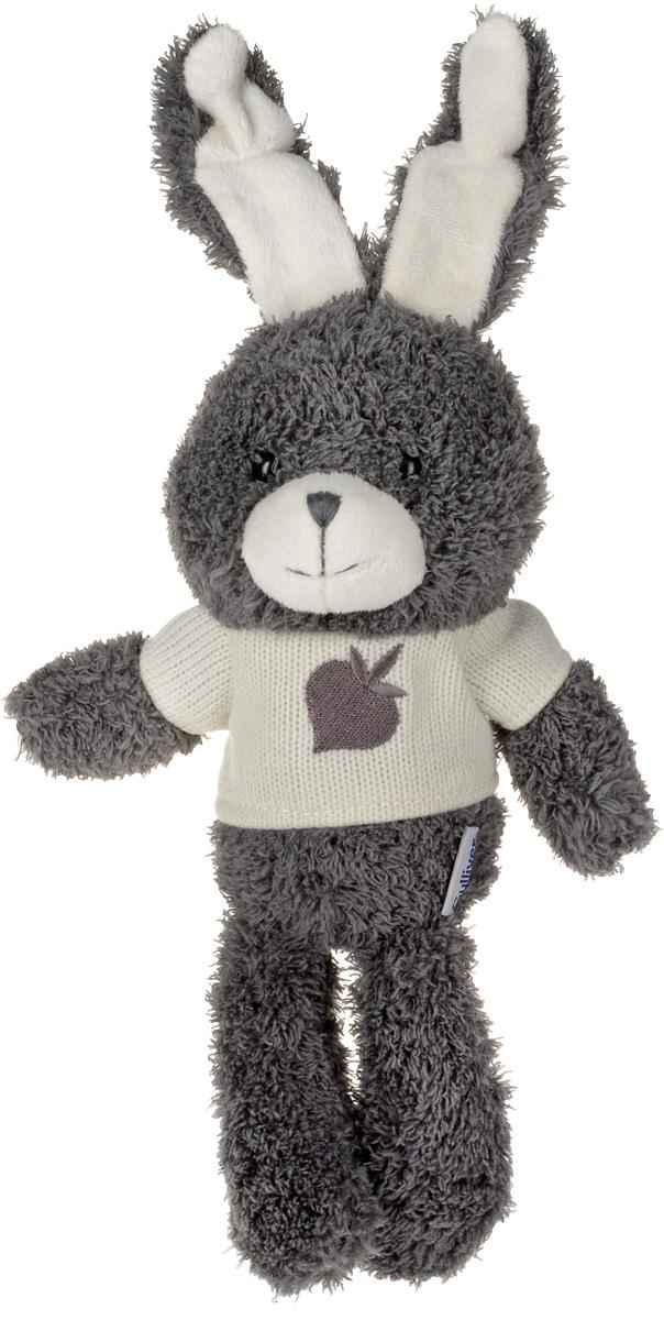 Gulliver Мягкая игрушка Зайчик Билли цвет серый 25 см gulliver мягкая игрушка лис фокси 38 см