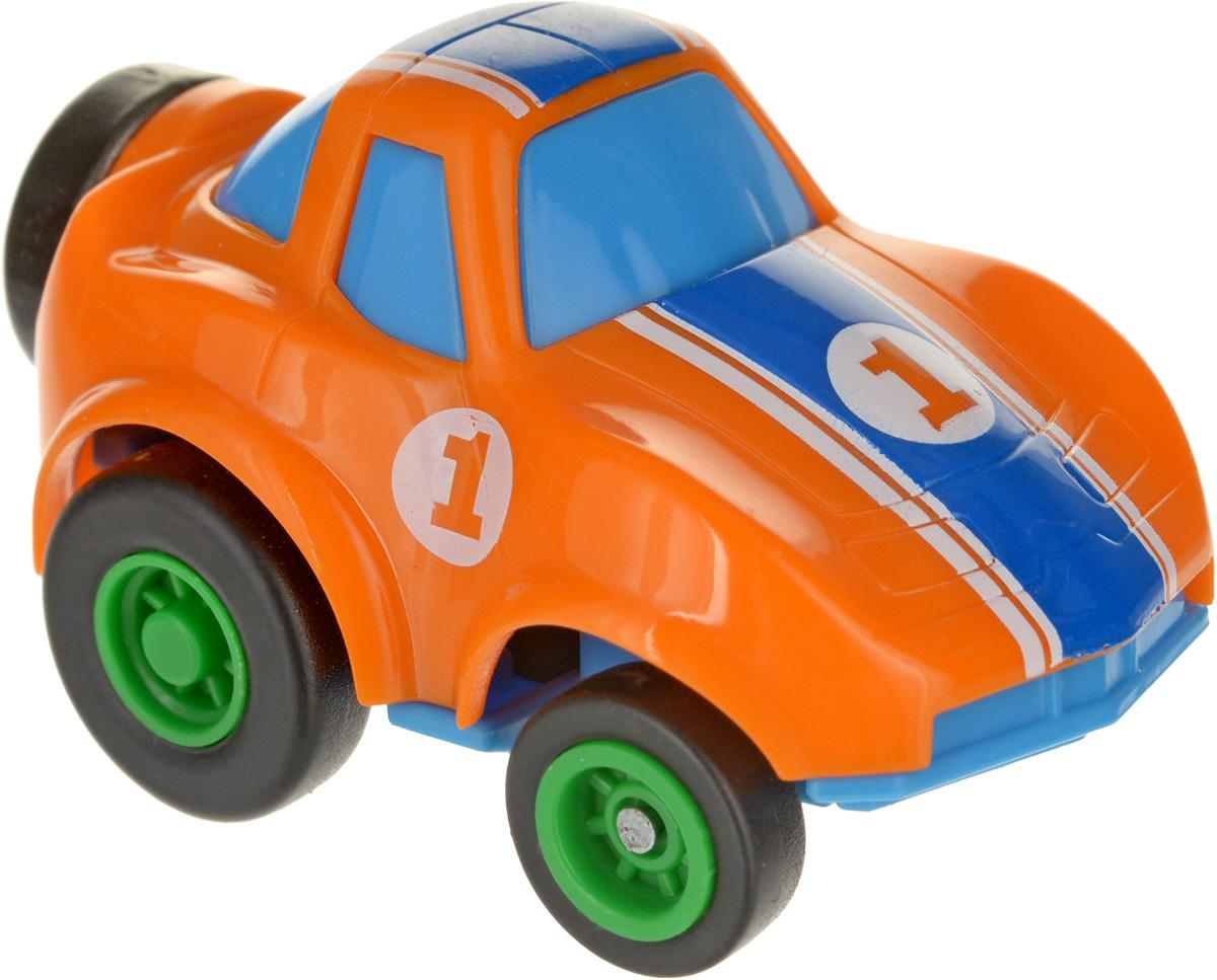 Maisto Машинка Slickers № 1 цвет оранжевый голубой синий калейдоскоп мозаика барселоны цвет синий белый оранжевый
