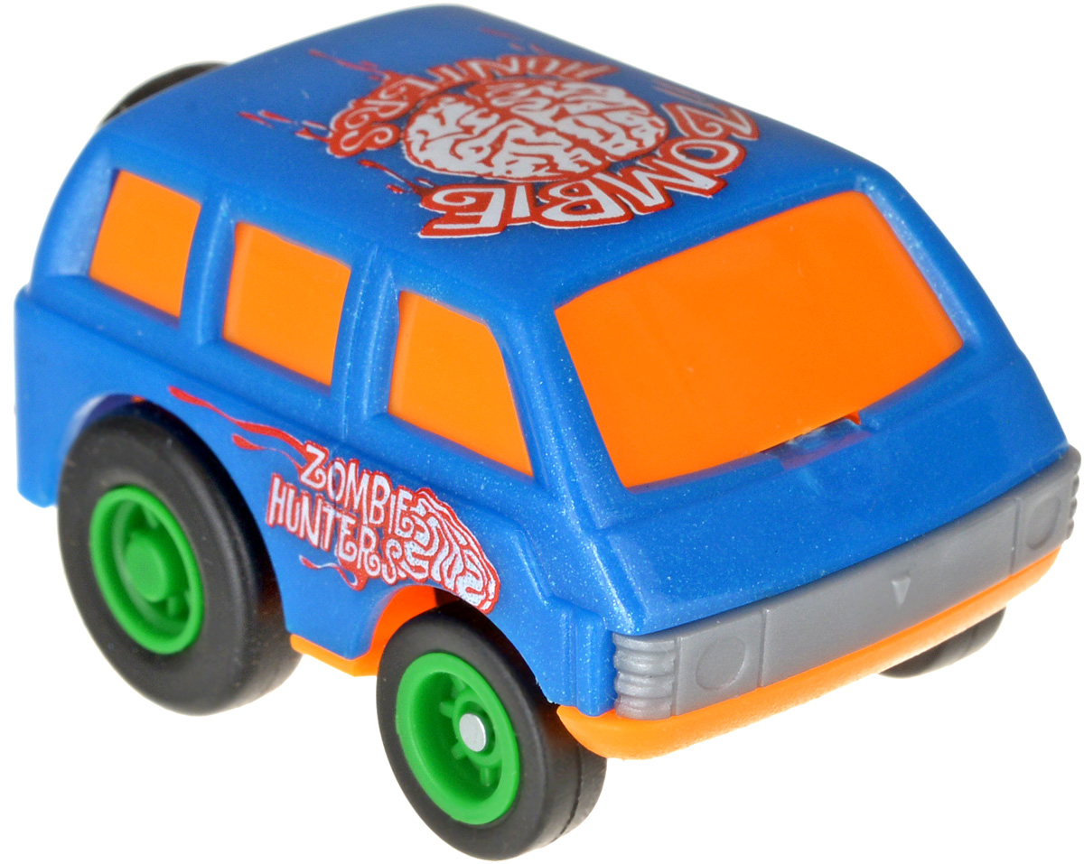 Maisto Машинка Slickers Zombie Hunters цвет синий оранжевый калейдоскоп мозаика барселоны цвет синий белый оранжевый
