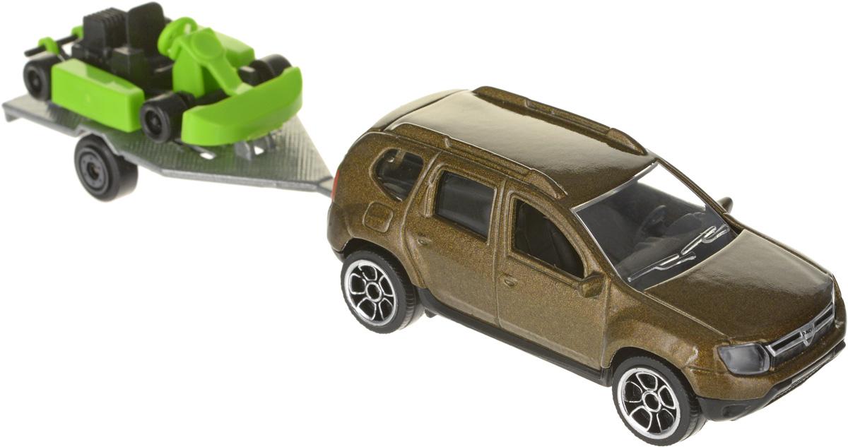 Simba Автомобиль с прицепом-катамаран цвет коричневый лошадка simba с каретой 4410389
