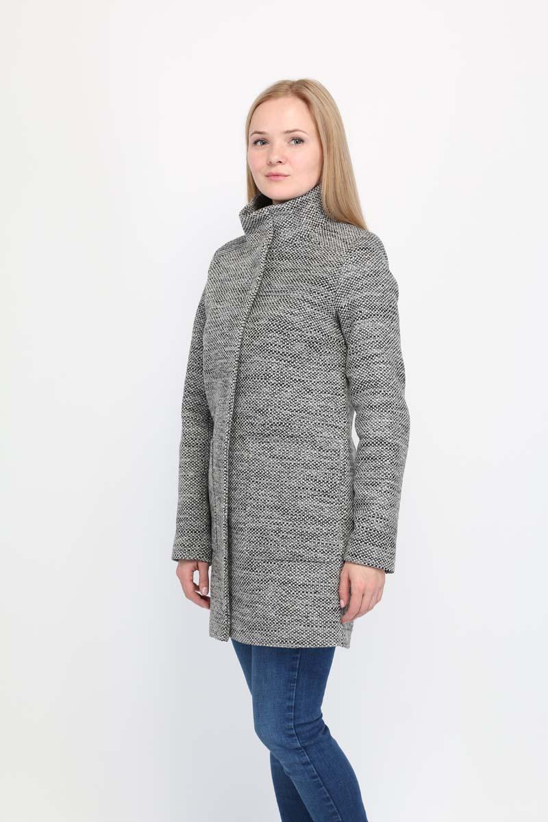 Купить Пальто женское Alessandro Vasaio, цвет: серый. 1672. Размер S (44)
