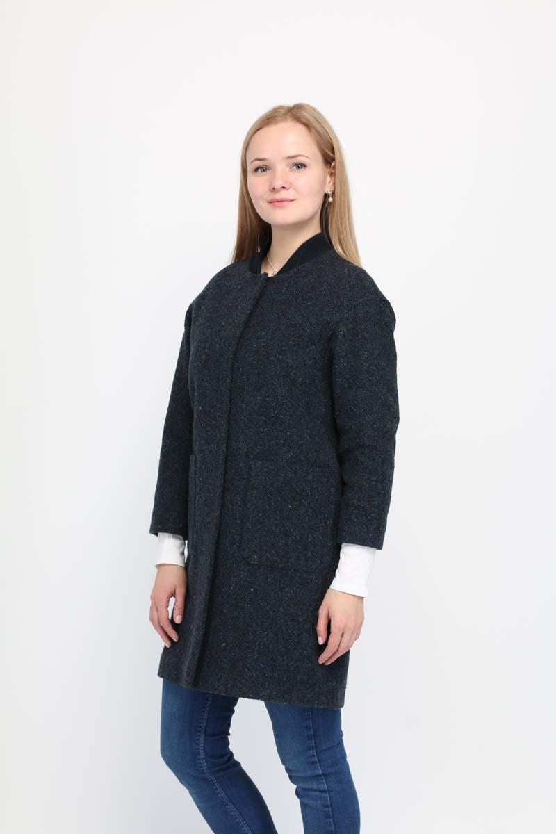 Купить Пальто женское Alessandro Vasaio, цвет: серый. 1583. Размер XXS (40)