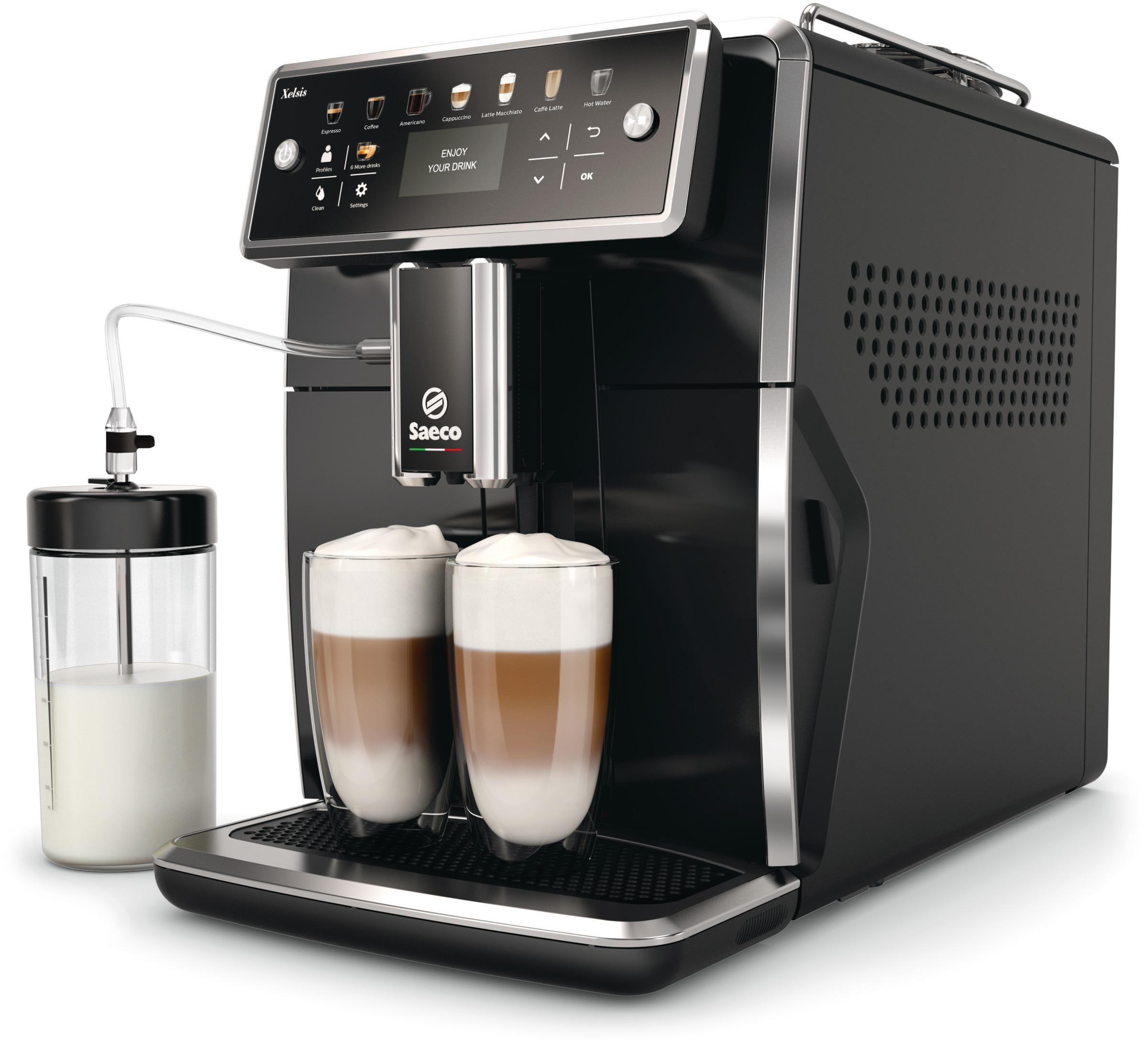 Saeco Xelsis SM7580/00 кофемашина