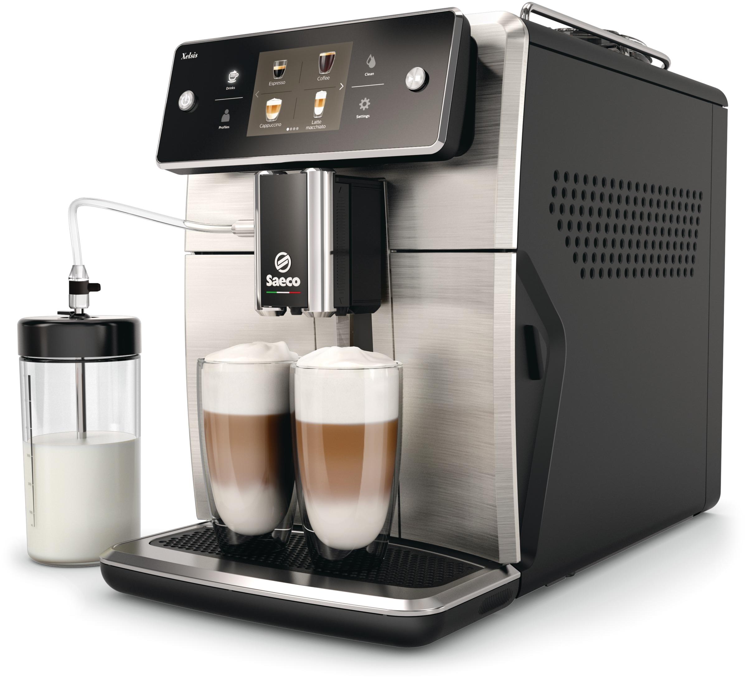 Saeco Xelsis SM7683/00 кофемашина