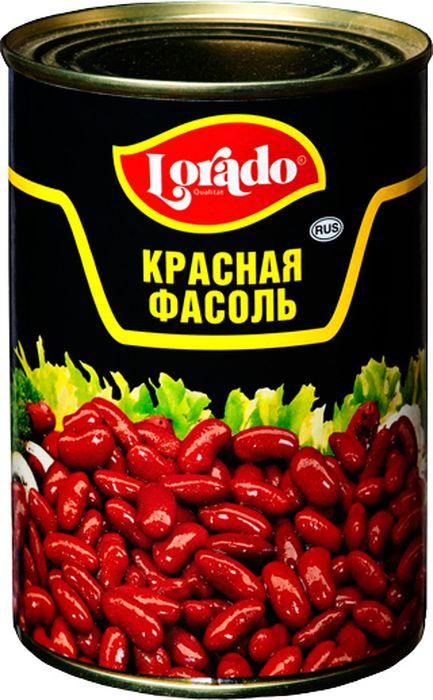 Lorado Фасоль красная, 425 мл lorado шампиньоны резаные 425 мл