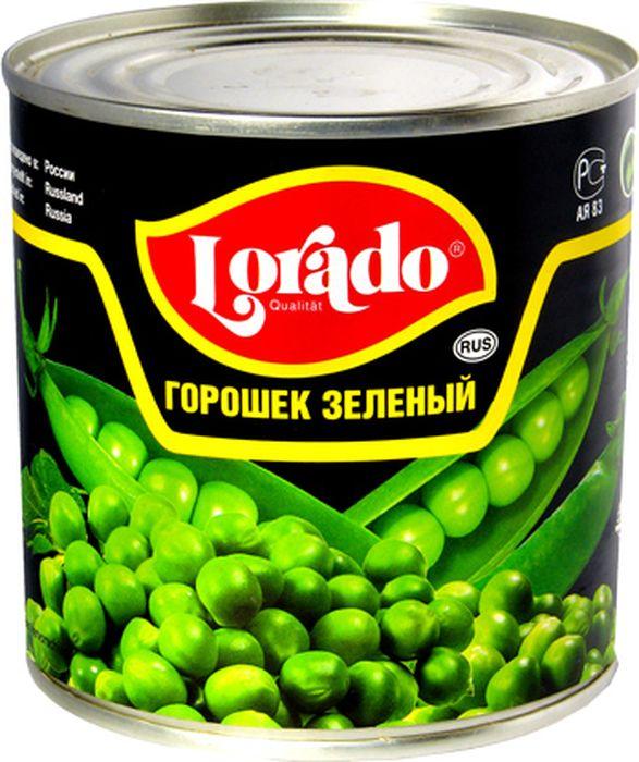 Lorado Горошек зеленый высший сорт ГОСТ, 425 мл lorado шампиньоны резаные 425 мл