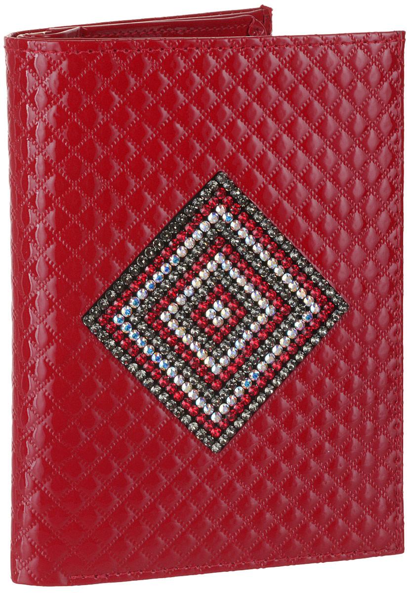 Обложка для автодокументов женская Elisir, цвет: красный. EL-LK172-BV0014-100