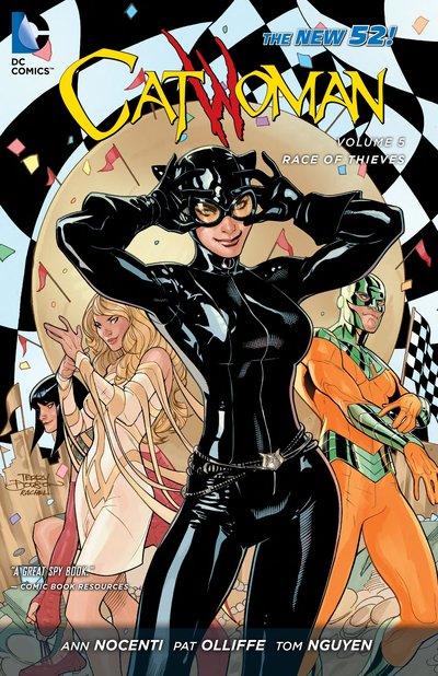 Catwoman: Volume 5: Race of Thieves batman gordon of gotham