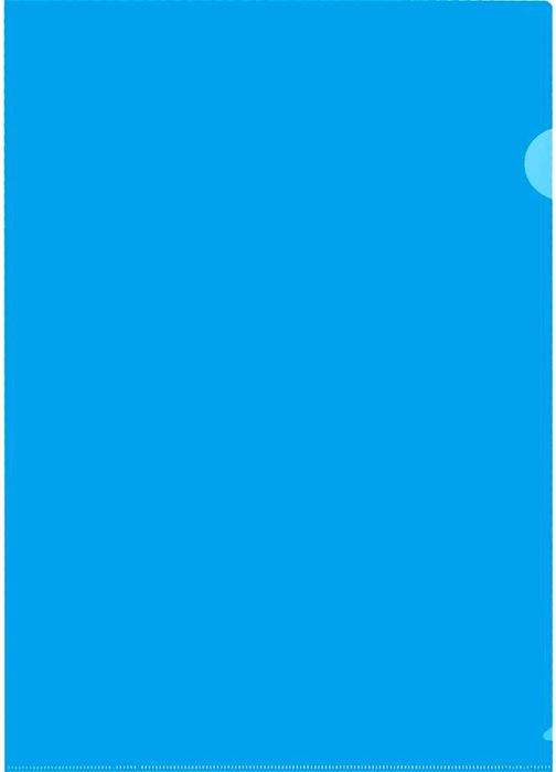 Durable Папка-уголок формат A4 цвет синий 10 шт папка уголок centrum 4 отделения в ассортименте формат а4 10 шт