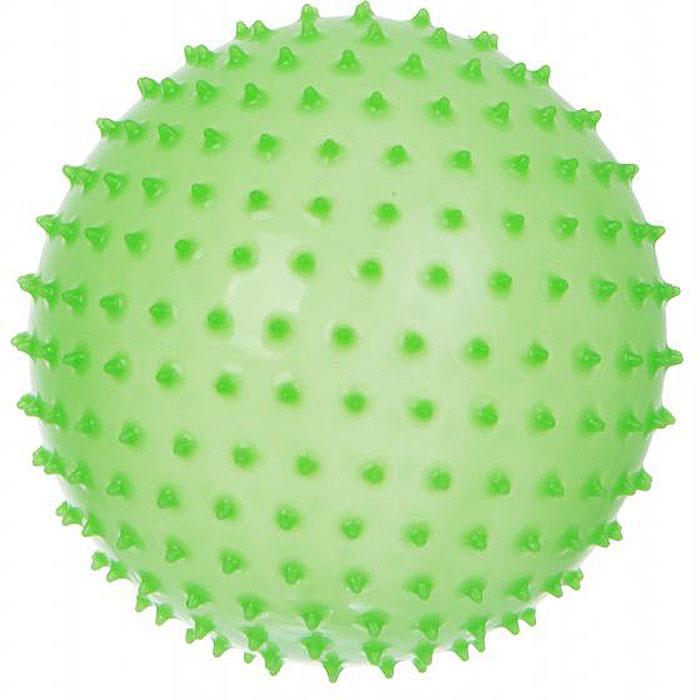 Альпина Пласт Мяч Ежик цвет зеленый люминесцентный, 8,5 см