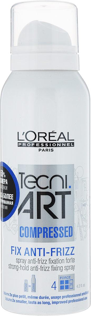 LOreal Professionnel Tecni. art Fix Спрей сильной фиксации с защитой от влаги (фикс.4) 125 млE0624979/1042/125млLOreal Professionnel Tecni. art Fix Спрей сильной фиксации с защитой от влаги (фикс.4) 125 мл