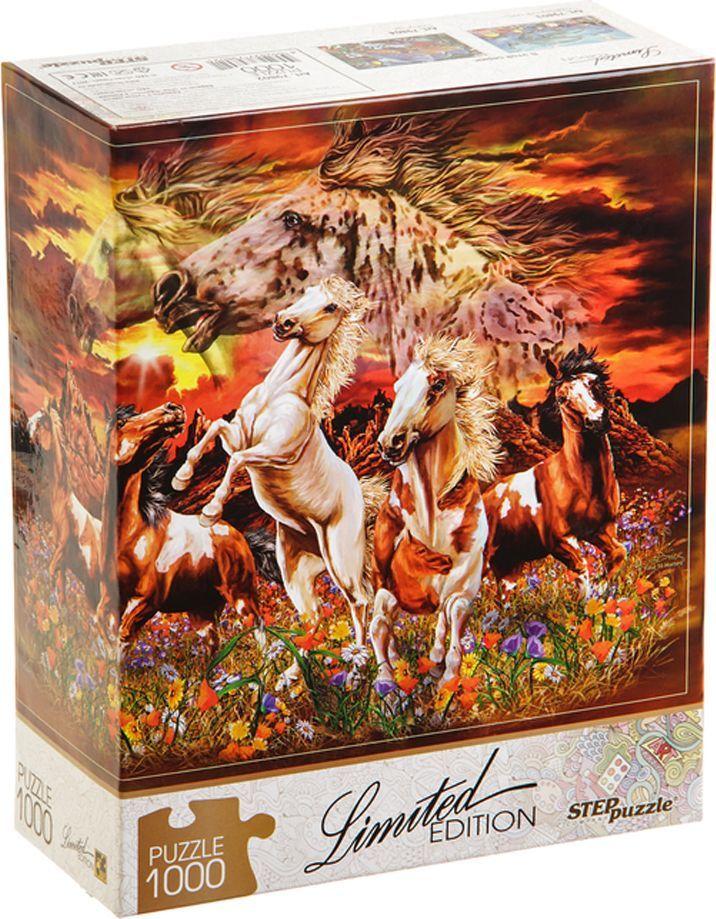 Step Puzzle Пазл Найди 16 лошадей