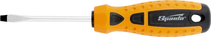 Купить Отвертка Sparta Point , 2-компонентная рукоятка, SL4, 0 х 100 мм