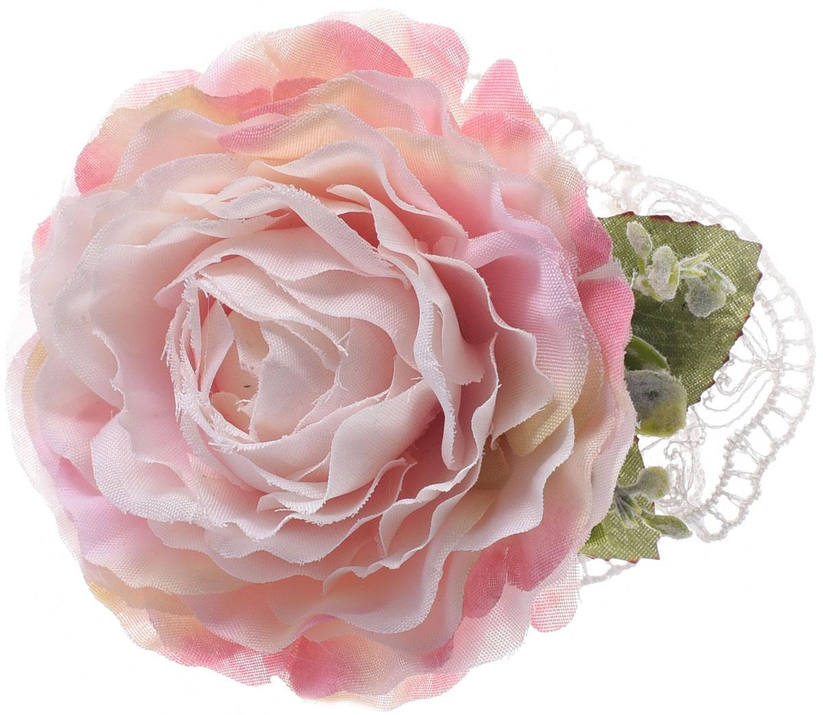 Заколка для волос Malina By Андерсен Флер, цвет: розовый. 11801тб10 заколка hairagami хеагами одинарная цвет черный розовый