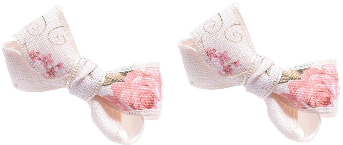 Резинка для волос Malina By Андерсен Литиция, цвет: розовый, 2 шт. 11804рм0211804рм02