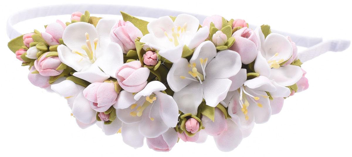 Ободок Malina By Андерсен Мирабель, цвет: розовый. 11805об0111805об01