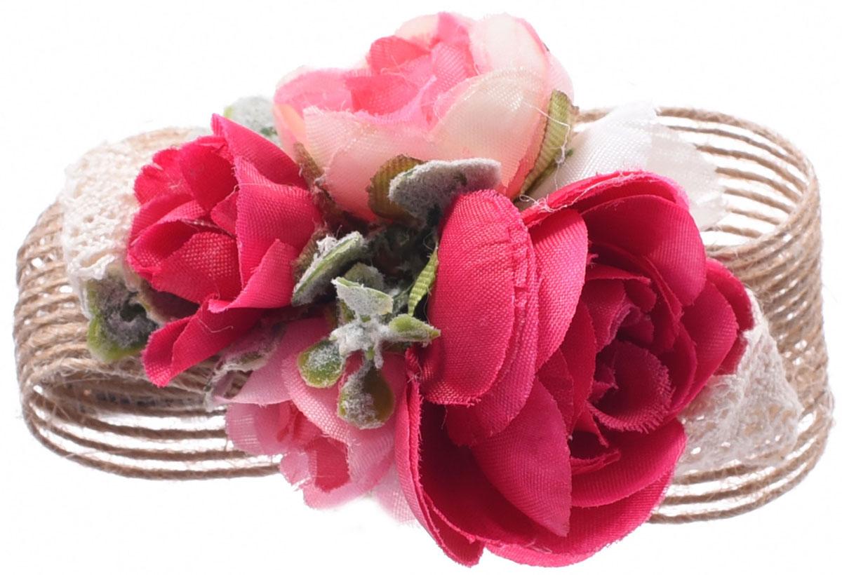 Резинка для волос Malina By Андерсен Фрезия, цвет: красный. 11807рб1511807рб15